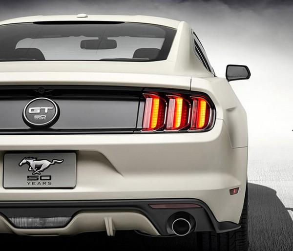 Юбилейная серия Mustang 2015 от Ford
