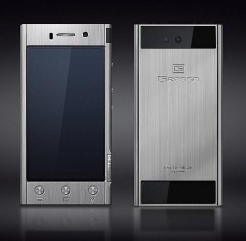 Титановый смартфон от Gresso за $2000