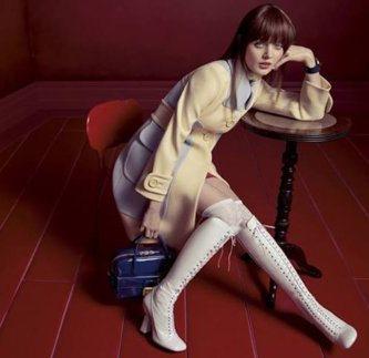 Лицом бренда Miu Miu стали молодые звёздочки Голливуда