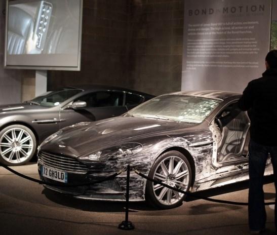 Лондонская выставка автомобилей «Агента 007»