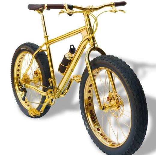 Золотой велосипед уже можно приобрести за $1.000.000