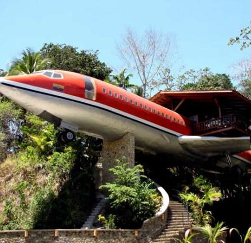 Boeing 727 стал роскошным отелем