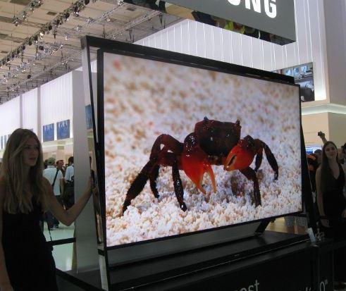 Samsung презентовал самый большой телевизор в мире