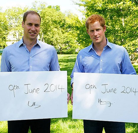 Принц Уильям и принц Гарри против убийства диких животных