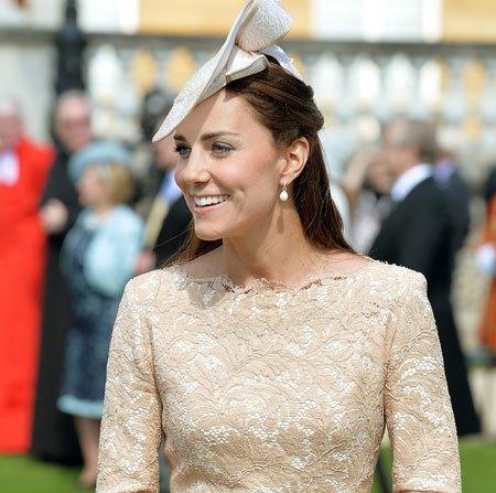 Кейт Миддлтон посетила Букингемский дворец для участия в Garden Party