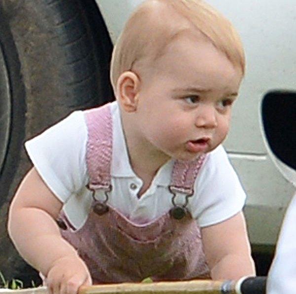 Принц Джордж помогал отцу и дяде выиграть турнир по поло