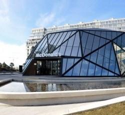 Футуристический McDonald's  признан лучшим зданием по итогам года