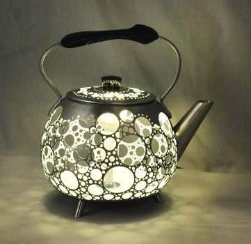 Винтажные лампы их старых чайников от Gilles Eichenbaum