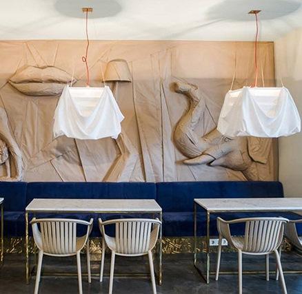В честь Сальвадора Дали открыли роскошное кафе