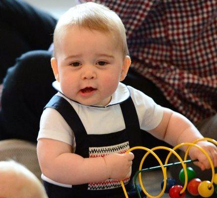 У сына Кейт Миддлтон нашли сходство с Уинстоном Черчиллем