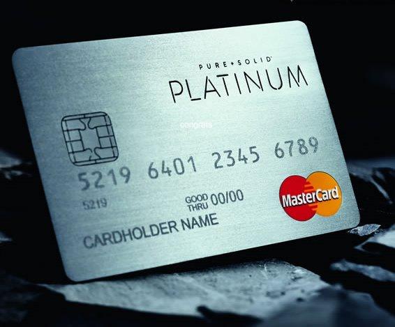 Драгоценные банковские карты станут символом дорогого вкуса