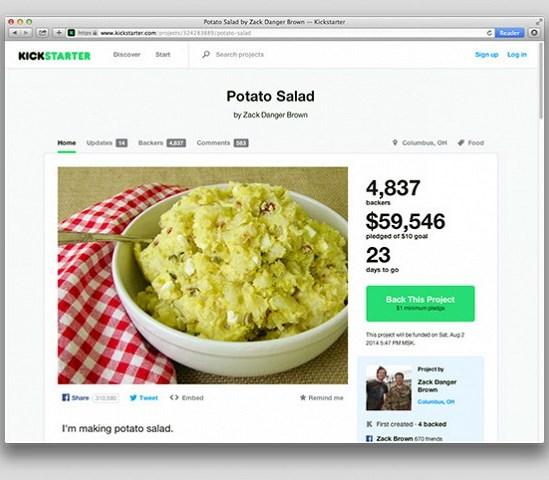 Овощная закуска по цене $50.000 привлекла не только гурманов