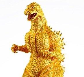 Золотая Годзилла за $1.500.000