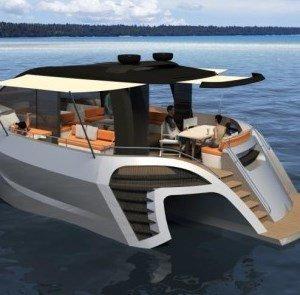 Роскошный и комфортный тримаран Tri60