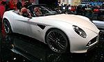 Alfa Romeo 8C Spider - мощный кабриолет для двоих