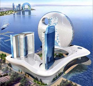 В Баку собираются строить необычные отели для туристов