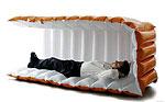 Спальный мешок от Nappak позволит отдохнуть в любой обстановке