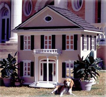 Будка для богатых собак