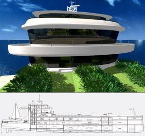 Плавучий остров уже можно приобрести по цене яхты