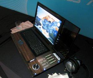 Ноутбук из кедра от Fujitsu