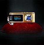 Золотой mp3 плеер от компании TREKSTOR