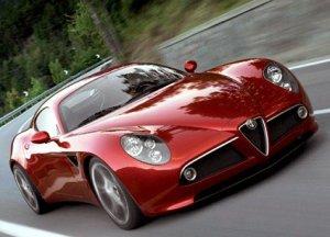 В честь гонки выпустили Alfa Romeo Spider Mille Miglia