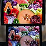 ЖК экран теперь способен передать более миллиарда цветов