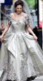 Самое дорогое и пышное свадебное платье мира фото.
