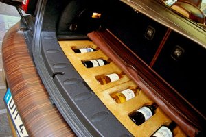 Создан специальный автомобиль для вина