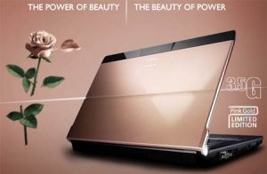 Компания Fujitsu выпустила розовый деловой ноутбук