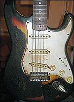 Сожженная гитара Джими Хендрикса должна стать самой дорогой в истории