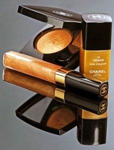 Очарование осени в косметике от Chanel