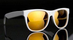 Wayfarer выпустил очки с золотыми стеклам