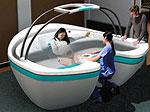 Специальную ванну для родов теперь можно поставить у себя дома