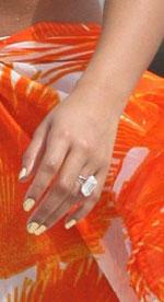 Бейонсе получила обручальное кольцо с внушительным бриллиантом