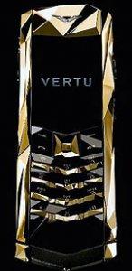 Золотой телефон от Boucheron и Vertu