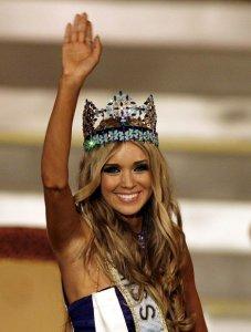 Мисс Мира 2008 - россиянка