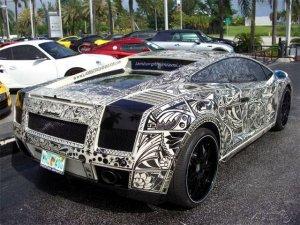 Расписной Lamborghini Gallardo на eBay
