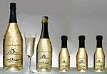 Золотое шампанское украсит ваш стол