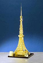 Золотая копия Токийской Башни поражает красотой