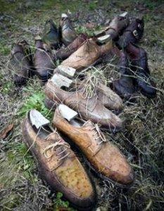 Поношенные ботинки на острие моды