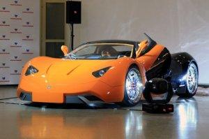 Первый русский суперкар - Marussia