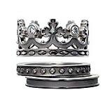 Кольца в форме королевских тиар от Carrera y Carrera