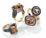 Коллекция от Le Vian с редкими шоколадными бриллиантами