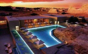 Еще один уединенный курорт в пустыне
