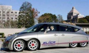 8-колесный электромобиль не уступит суперкарам
