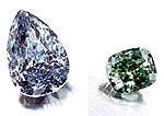 Редкий зеленый бриллиант выставлен на аукцион