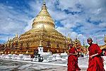 Скромный новогодний круиз по бирманской реке
