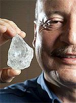 Огромный алмаз продан за $35.000.000