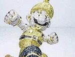 Фигурка Марио из золота и бриллиантов на аукционе eBay